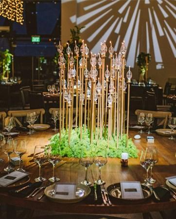 הטרנד הלוהט של עונת החתונות הנוכחית: מטבח פתוח ושולחנות אבירים