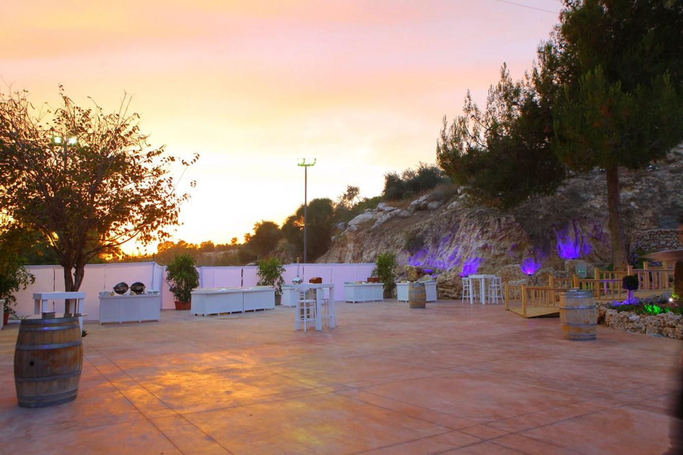 חתונה בצלע ההר: שילוב של פשטות כפרית וסגנון מלכותי , מקום לחגוג, 6