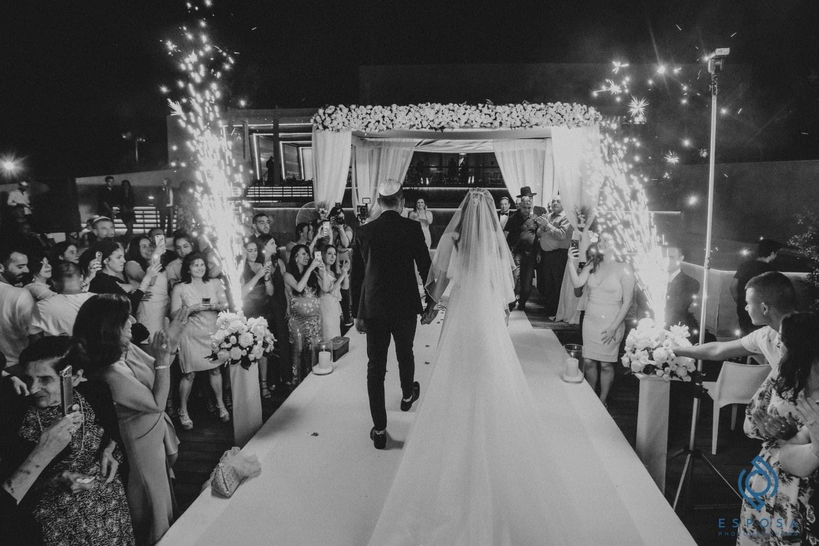 חתונה באמדו - צילום אספוסה