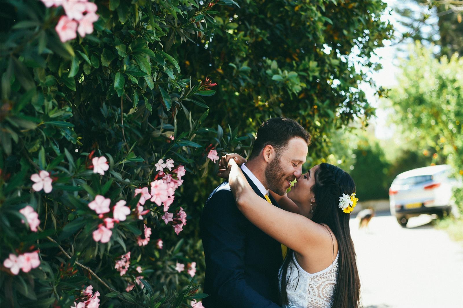 חתונה בצל החורש (צילום: ברי חיון)
