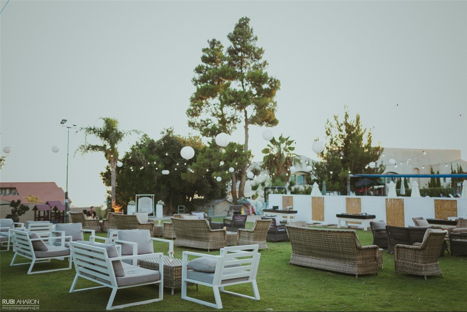 גן אירועים שורש (צילום: רובי אהרון)