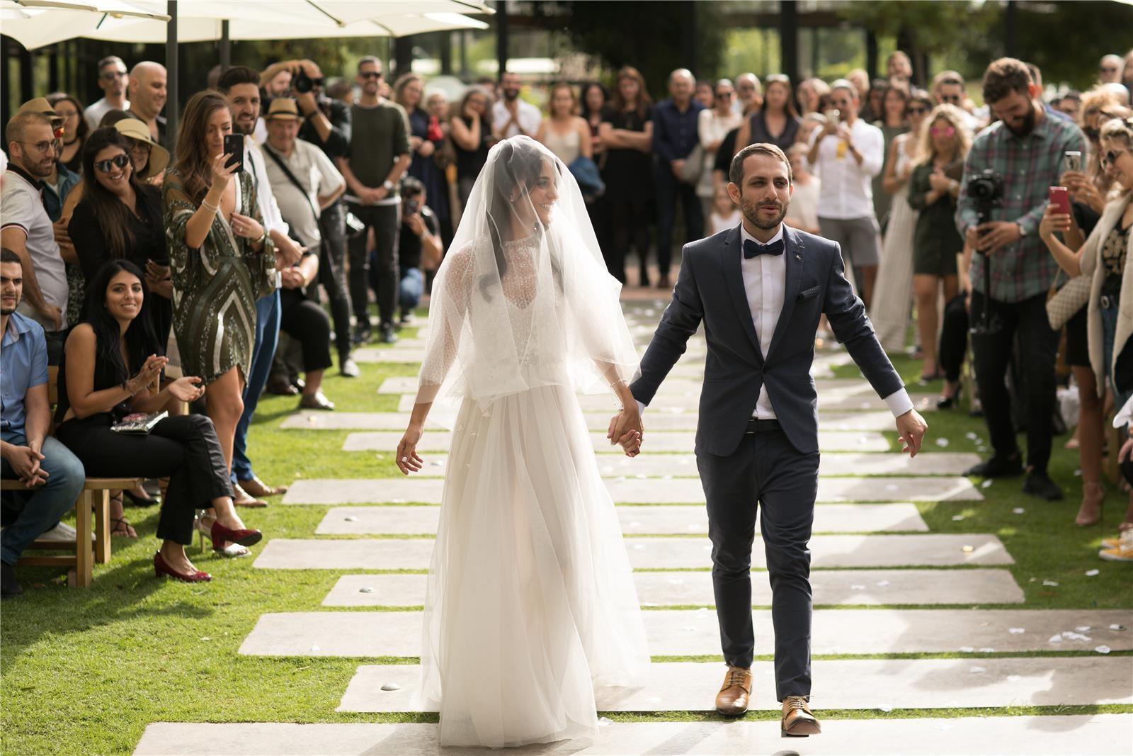 חתונת בריכה בצל החורש (צילום: אלעד פיפל)