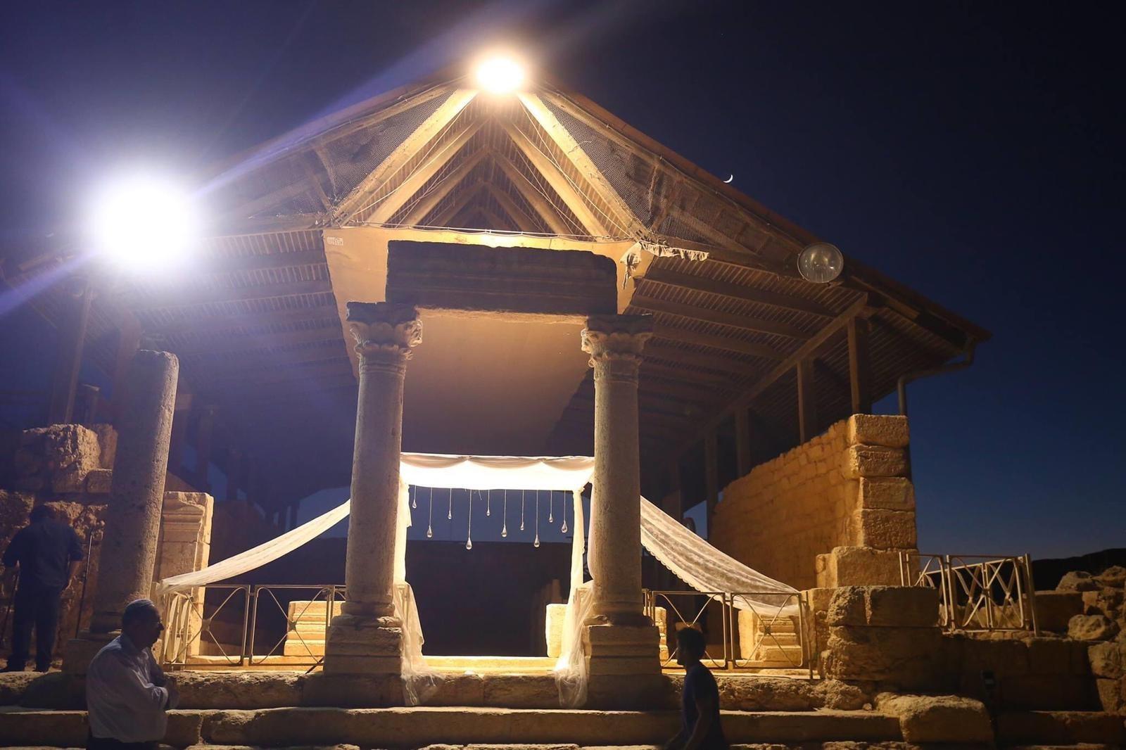 בית הכנסת בסוסיא. צילום: רוני ציון פלזנשטיין