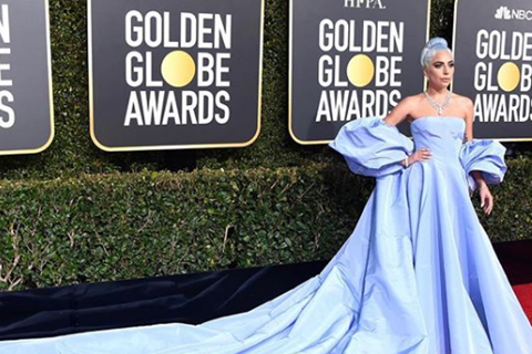 ליידי גאגא (צילום: מתוך האינסטגרם של ולנטינו)