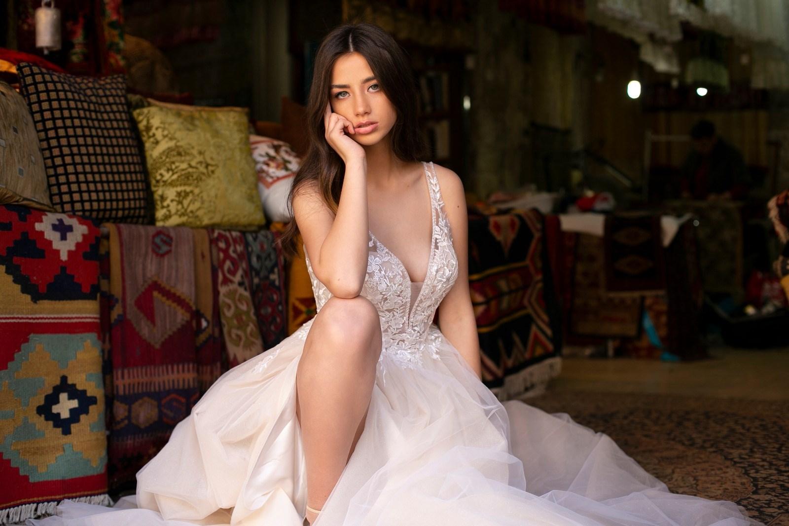 """שמלת כלה של יניב פרסי (צילום: יח""""צ)"""
