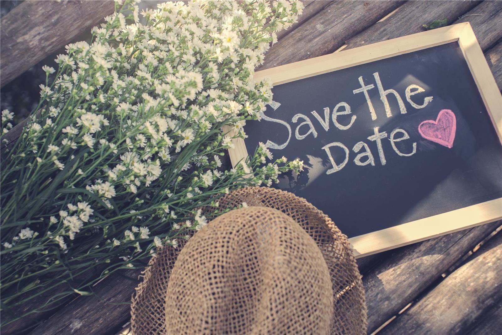 שלט save the date (צילום: Shutterstock)