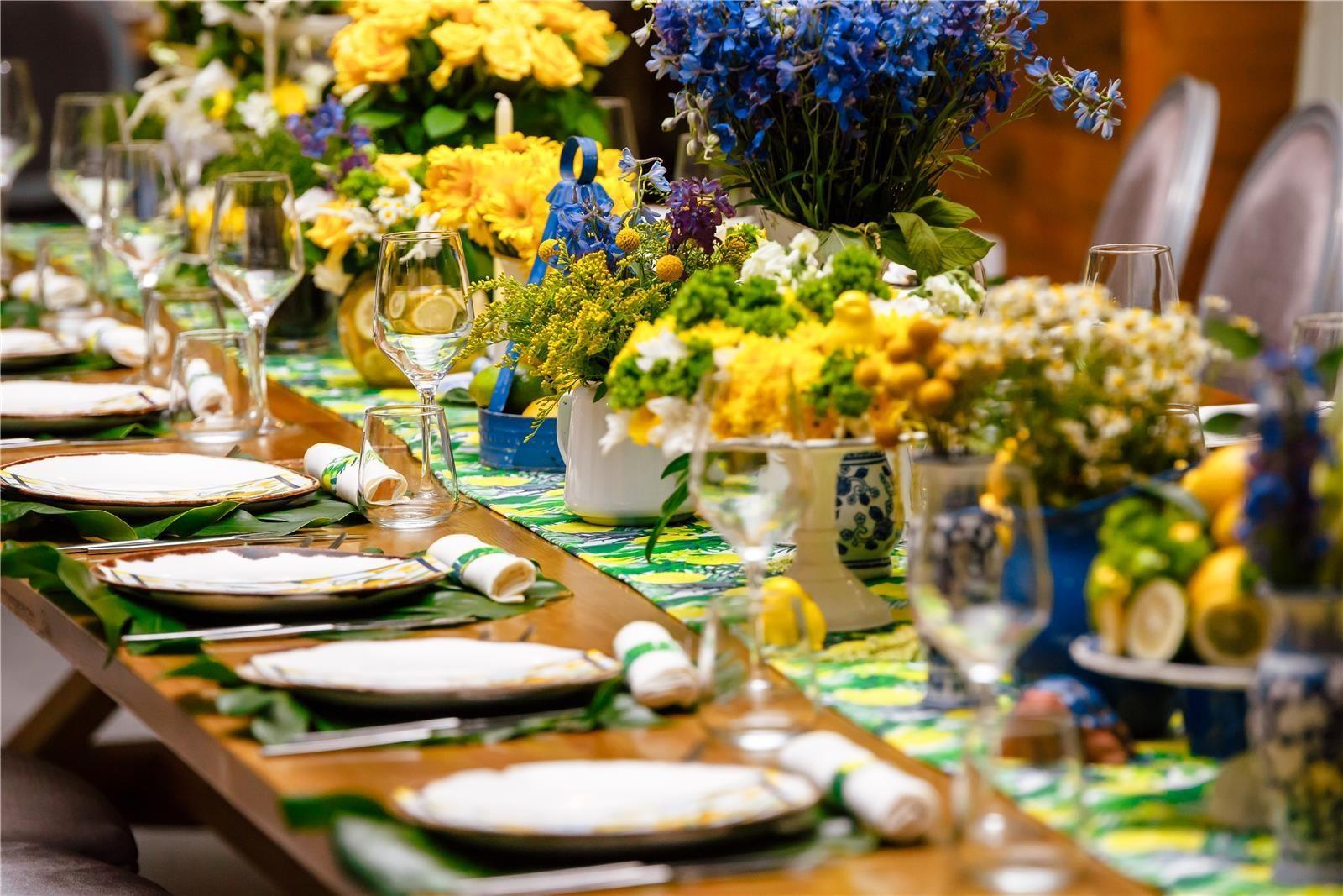 הפקת חתונה בצהוב (צילום: מארק מ-Mark 4 wedding)