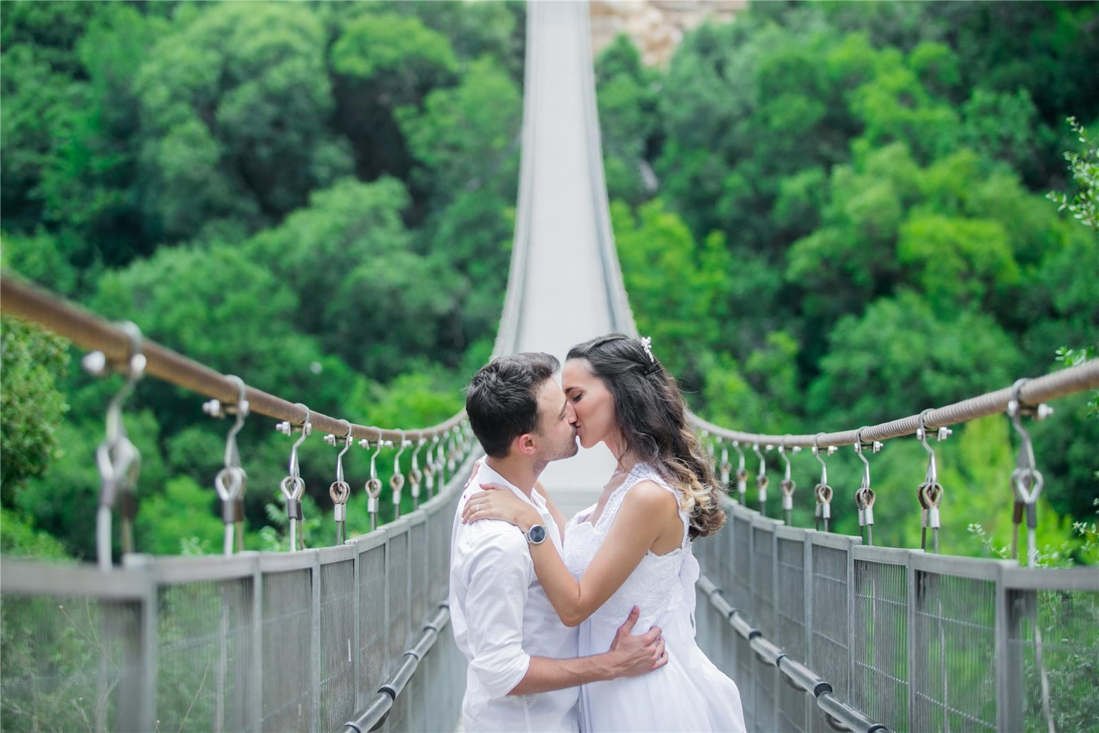 זוג על גשר (צילום: דניאל -stravo)