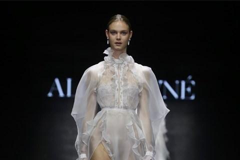 שמלה של אלון ליבנה (צילום: אבי ולדמן)