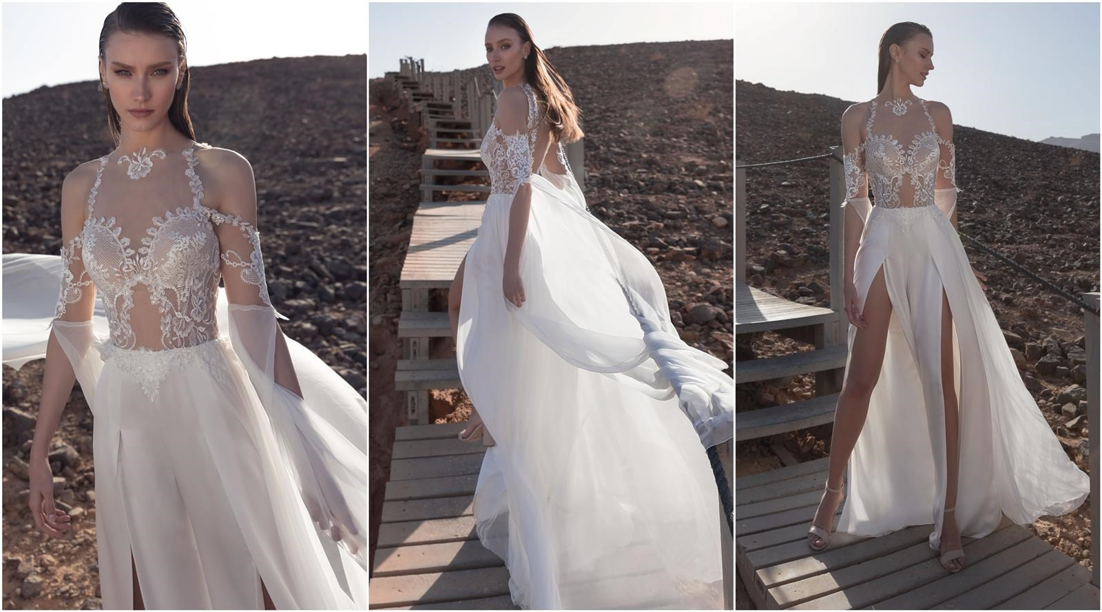 שמלת כלה של דימיטריוס (צילום: דניאל אלסטר)