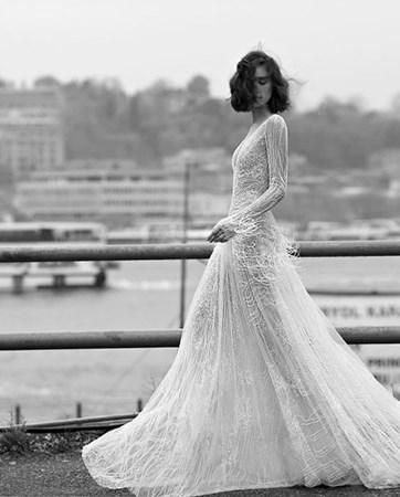 לבן על לבן: שמלות הכלה של החורף