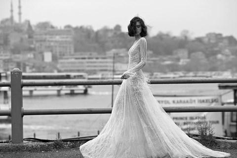 ליז מרטינז שמלת כלה לחורף