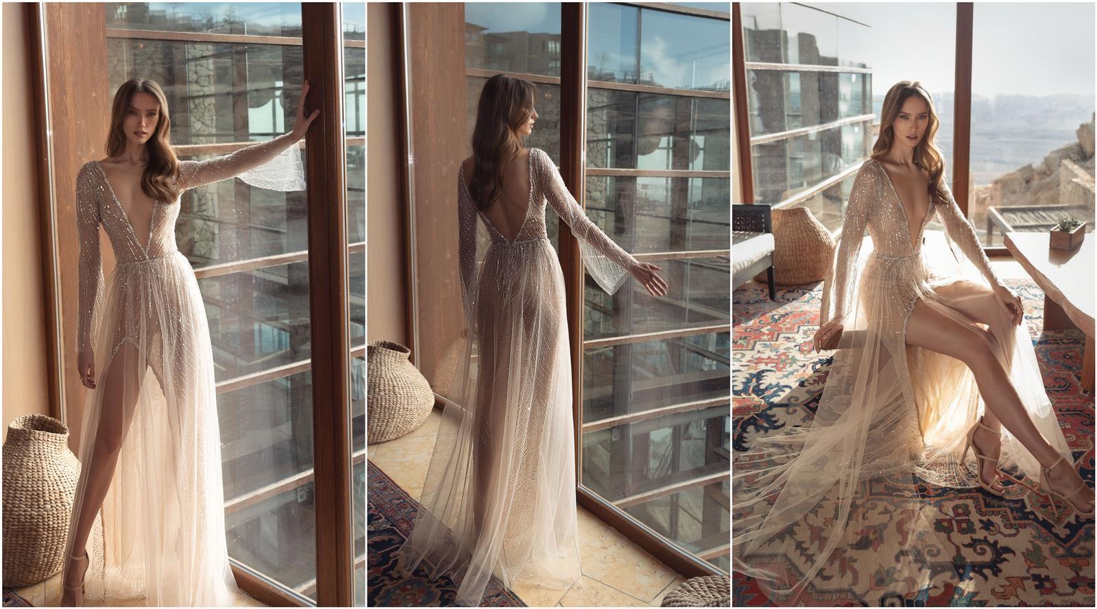 שמלות כלה של מירב מויאל (צילום: אבי ביטון)