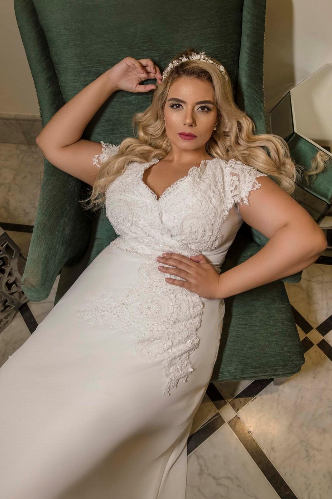 שמלה של מירב מויאל (צילום: אבי ביטון)