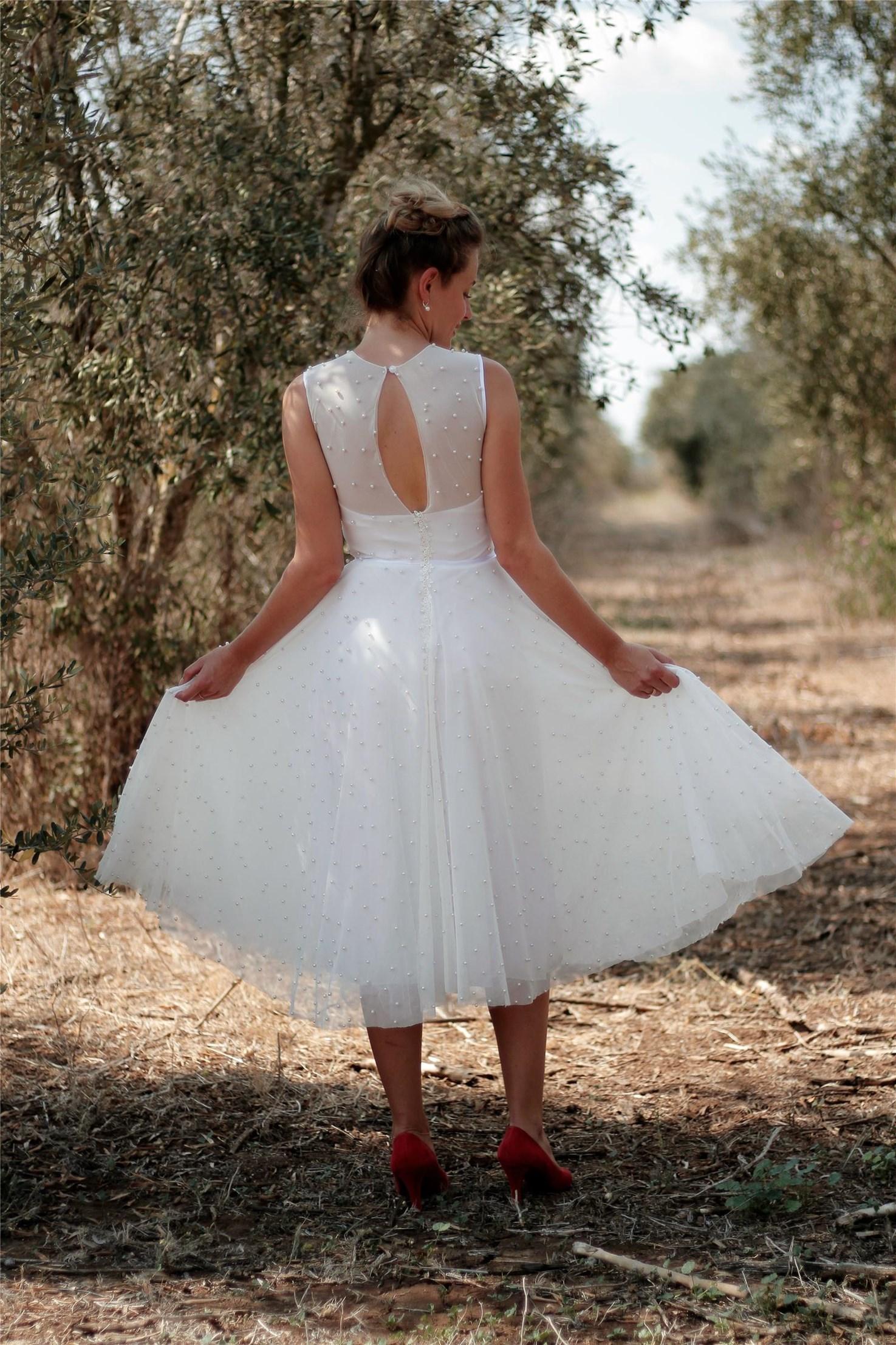 שמלת כלה - דגם יהודית של אור טוהר (צילום: רעות דגני)
