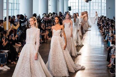 שבוע האופנה לכלות בניו יורק (צילום: מתוך האינסטגרם של ברטה)