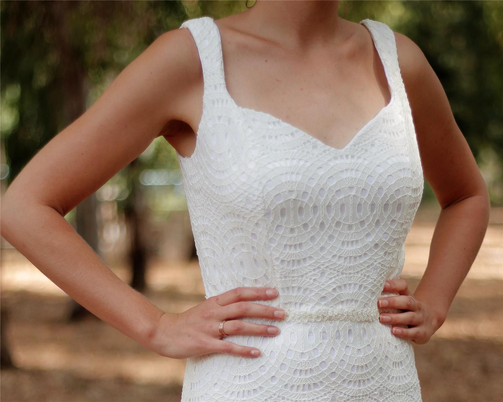 שמלת כלה - דגם מיטל של אור טוהר (צילום: רעות דגני)
