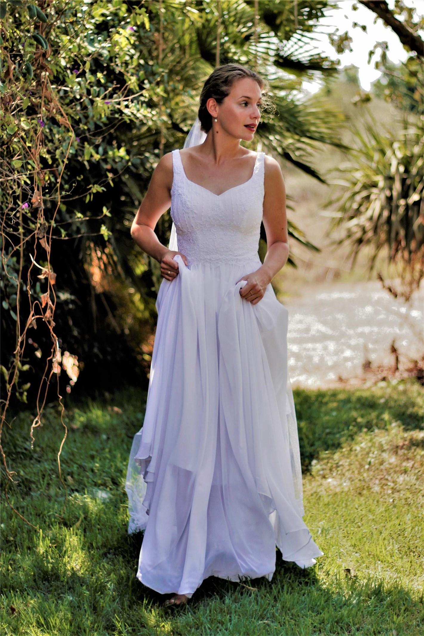 שמלת כלה - דגם רעות של אור טוהר (צילום: רעות דגני)
