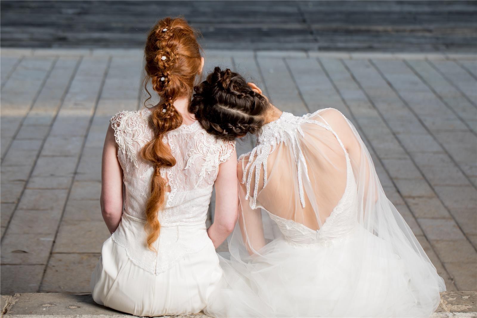 יריד שמלות הכלה של רוח נשית (צילום: תומר טרלן בן אבי)