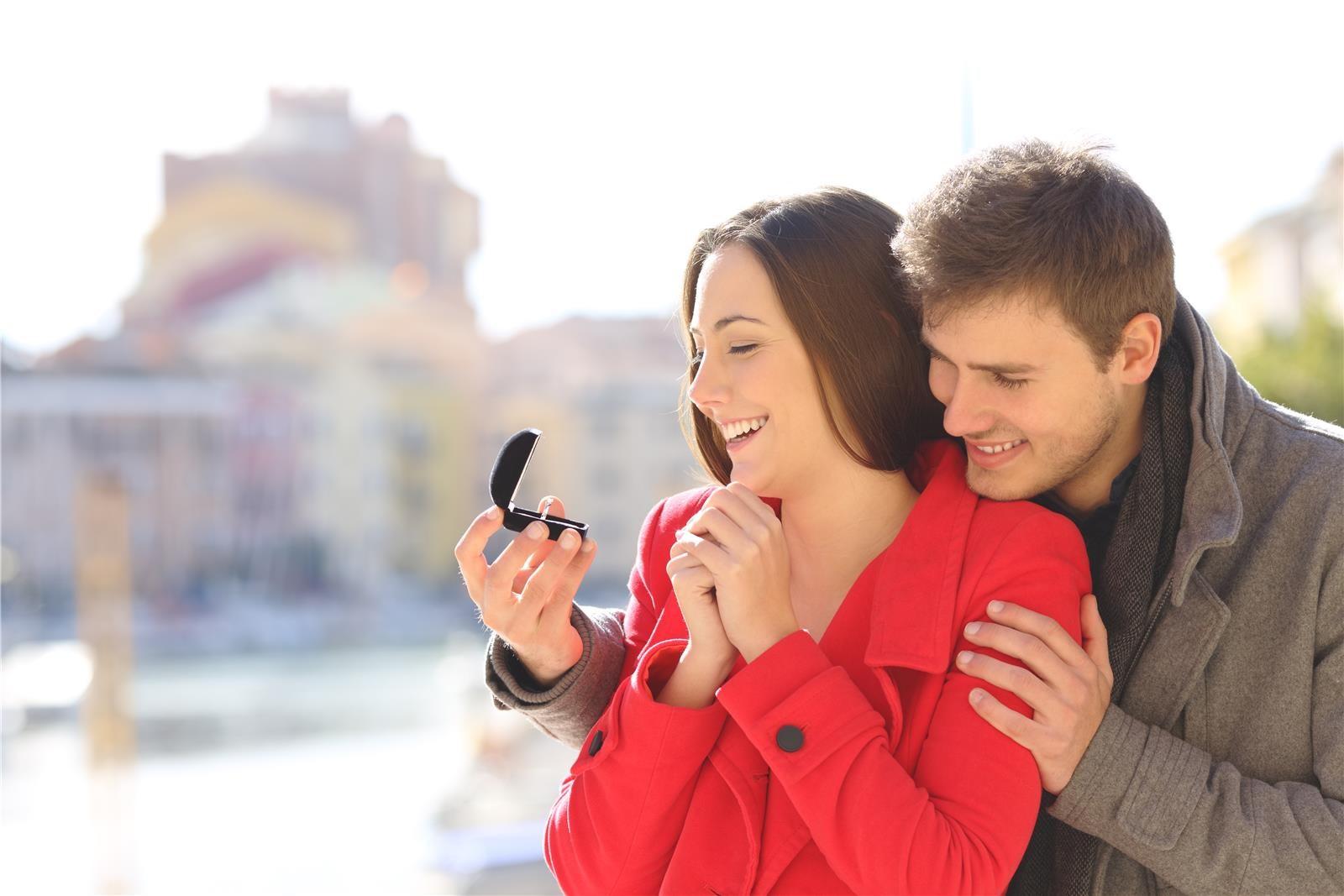 הצעת נישואים (צילום: Shutterstock)