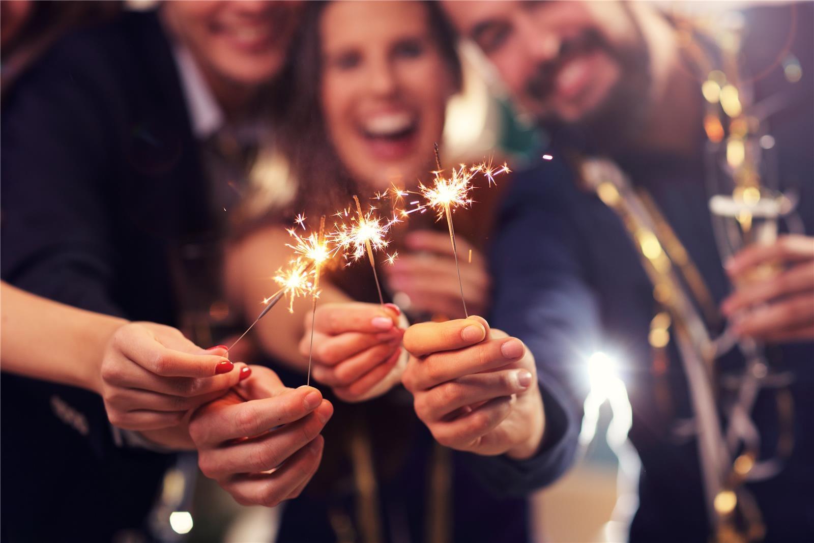 מסיבת שנה חדשה (צילום: Shutterstock)