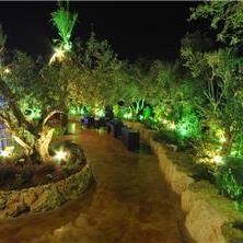גן אירועים במראה מודרני