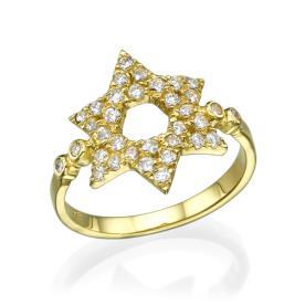 טבעת יודאיקה מגב דוד