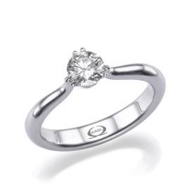 טבעת אירוסין סוליטייר רומנטית
