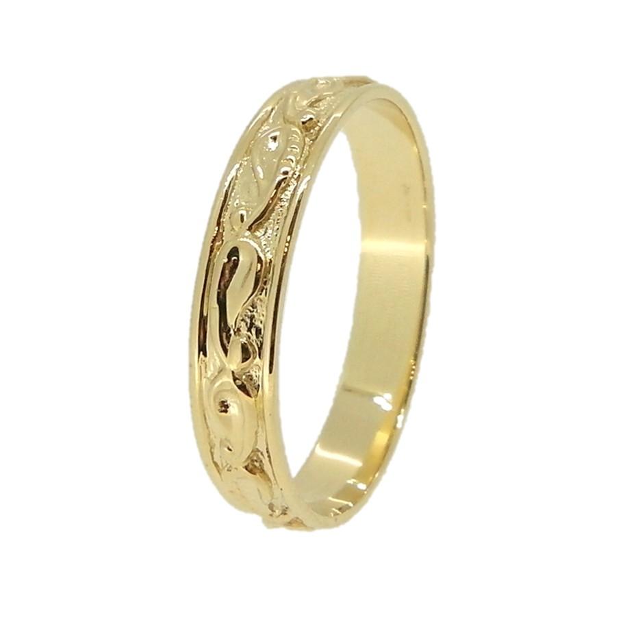 טבעת וינטאג בעיצוב רומנטי
