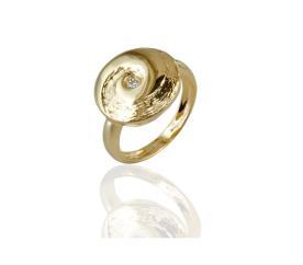 טבעת אירוסין יהלום קטן