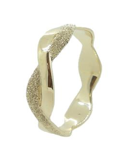 טבעת זהב עדינה גלית