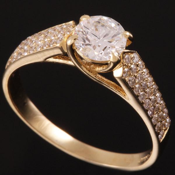 טבעת אירוסין עם פינות מחודדות