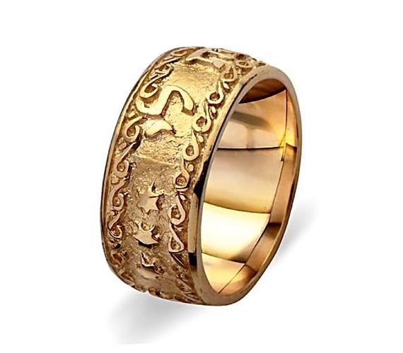 טבעת נישואין הטבעת כוכבים