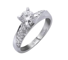 טבעת אירוסין דוגמה גלית
