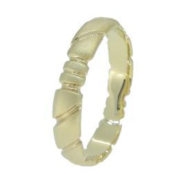 טבעת צרה בעיצוב מיוחד