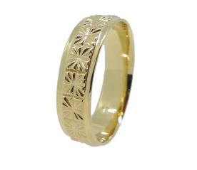 טבעת נישואין עם הטבעות