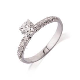 טבעת אירוסין עדינה אטרניטי