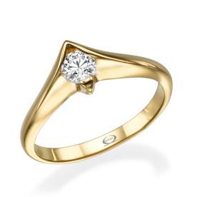 עיצוב וינטאג לטבעת אירוסין