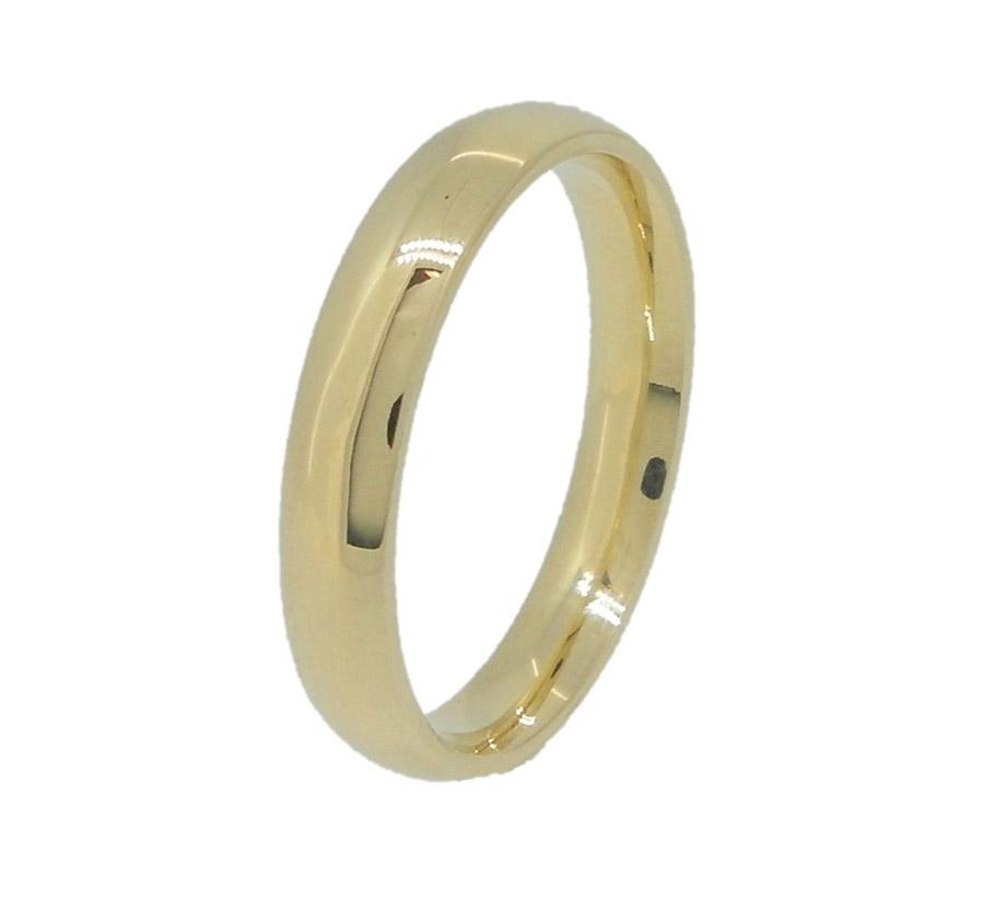 טבעת נישואין קלאסית צרה