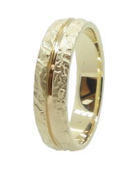 טבעת רחבה בעיצוב מודרני