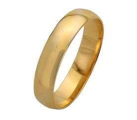 טבעת נישואין זהב צהוב קלאסית