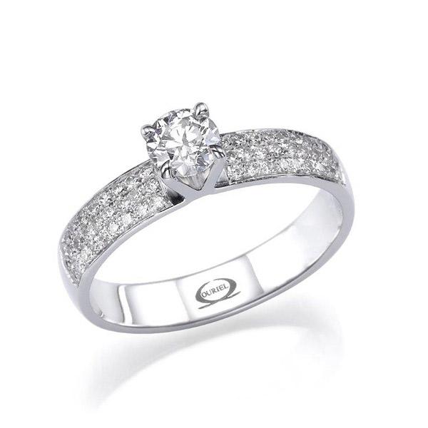 טבעת אירוסין אטרניטי עדין
