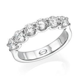 טבעת אירוסין: תכשיט לאישה, תכשיט עם יהלומים, תכשיט מזהב לבן, תכשיט בסגנון צר, תכשיט בעיצוב עדין, יהלומים - אוריאל תכשיטים