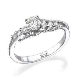 טבעת אירוסין וינטאג' גלית