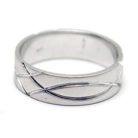 טבעת נישואין דוגמה חרוטה