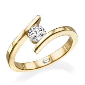 טבעת דקה בעיצוב מודרני