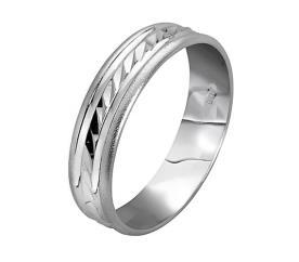 טבעת נישואין ריקוע אלכסוני