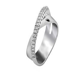 טבעת אירוסין אסימטרית אטרניטי