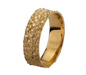 טבעת נישואין דוגמת ריקועים