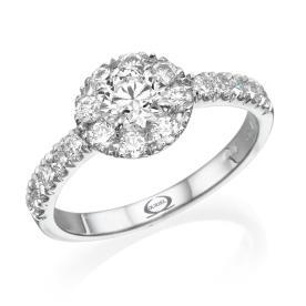 טבעת בעיצוב קלאסי לכלה